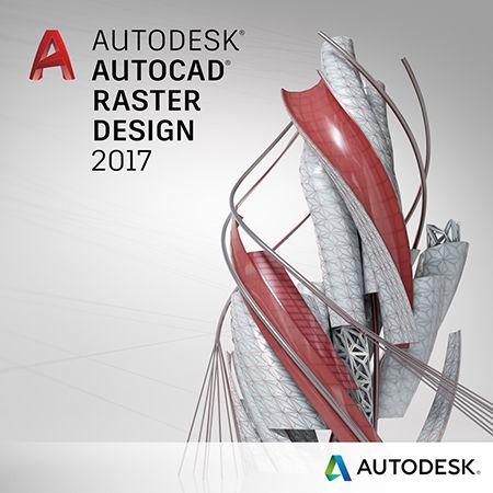 340I1 Autodesk AutoCAD Raster Design 2017
