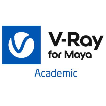 V-ray Academic para Maya con mochila
