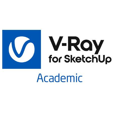 V-ray Academic para Sketch up con mochila