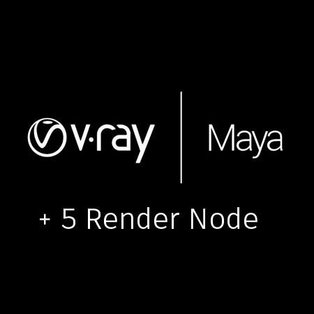 V-Ray 3.0 for Maya + 5 Render node