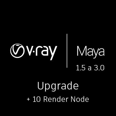 V-Ray Maya Upgrade 1.5 10 render